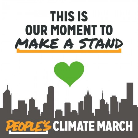 climate march Green heart profile picture
